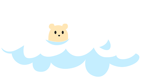 Hamster on a cloud