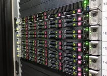 Server in Hostens data center