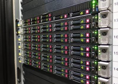 Server in Hostens data center