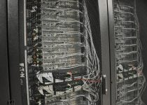 Hostens servers in the data center
