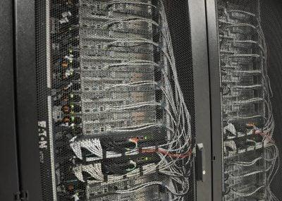 Hostens servers in the data center