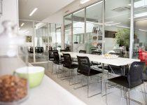 Hostens office kitchen
