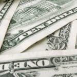 U. S. Dollar bills