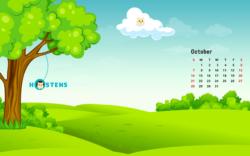 Hostens Calendar October