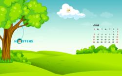 Hostens Calendar June