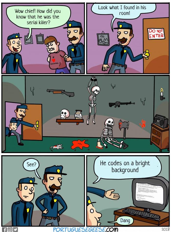 Spotting a serial killer