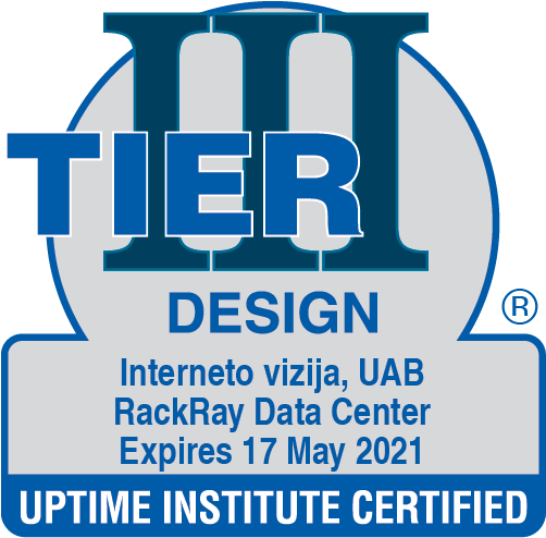 Data Center Certificate