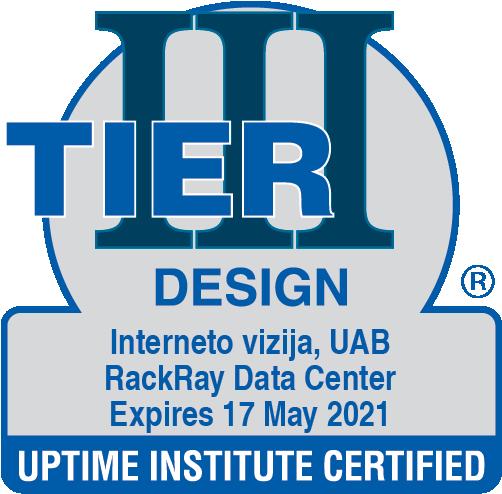 Data Center Certificate