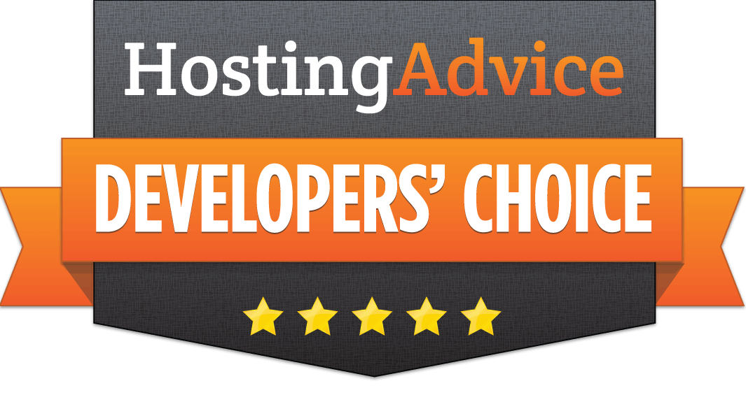 HostingAdvice Developers' Choice Award for Hostens