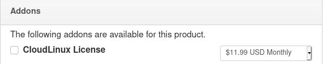 CloudLinux order